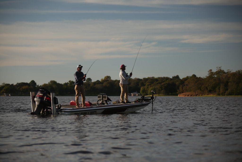 Petite session de pêche avec le leurre souple black minnow
