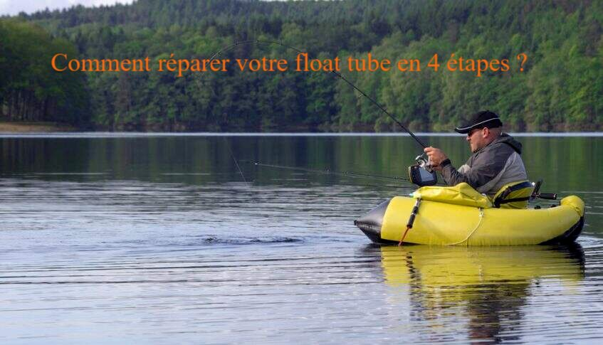 comment reparer float tube en 4 etapes