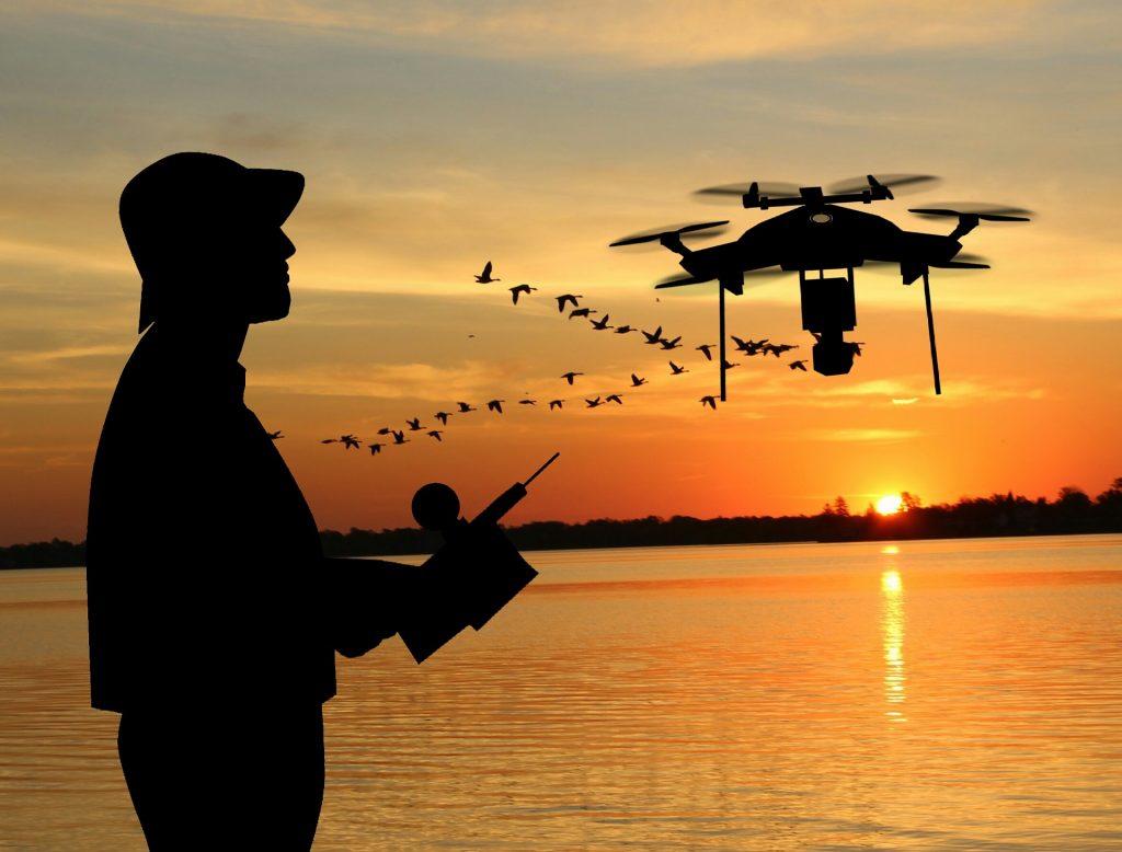 drone sous-marin pour pêcher